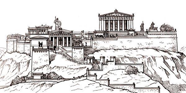 Ансамбль Афинского Акрополя (V