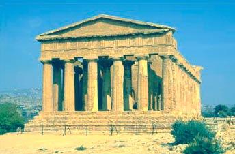 Греческий храм и Акрополь - www.Arhitekto.ru