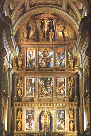 Алтарь главной капеллы собора сан
